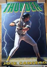 "1992 Vintage Costacos Poster ~ Jose Canseco / ""Thunder"" (24"" x 36"")"