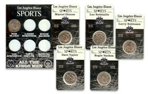 Los Angeles Kings 1998-99 Coin Set Robitaille Blake Vachon Robinson Taylor