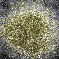 100g XL Metal Flakes Extreme Gold Auto Car Tuning Effektlack Pigment 0,6mm