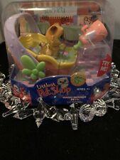 Littlest Pet Shop #3 Yum Yum Kitty With Basket & Bottle Hasbro 2005 Magic Motion