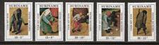 Suriname 568-572 MNH 1971 PIETER BRUEGHEL