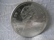 MÜNZE CANADA 1 DOLLAR AUS SILBER 800 – ER 1867 - 1967