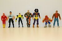 Lot Of Vintage Action Figures Mixed Ninja Spartan Jack And More 1980s 1990s