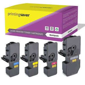 Set of 4 Toner Cartridge for Kyocera TK-5240 ECOSYS M5526cdn M5526cdw P5026cdn