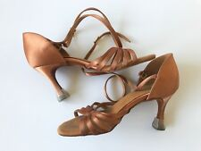 Supadance Ballroom Dancing Shoes Dark Tan Size 3