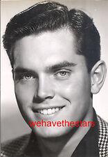 Vintage Jeffrey Hunter QUITE HANDSOME '51 OVERSIZE Publicity Portrait