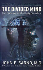 The Divided Mind John E. Sarno Hardcover Book The Epidemic Of Mindbody Disorders