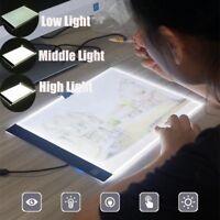 """A4 LED Tracing Light Box Drawing Tattoo Board Pad Table Stencil Artist 13"""""""