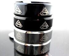 10pcs Superhero Stainless Steel Band Rings Wholesale Men Fashion Jewelry Lots