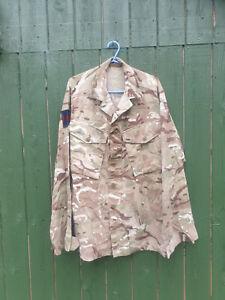 BRITISH MTP BARRACK DRESS SHIRT 180/96 - MEDIUM REGULAR GUARDS / 1ST MECH