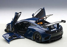 Autoart MCLAREN 12C GT3 AZURE BLUE in 1/18 Scale. New Release! In Stock!