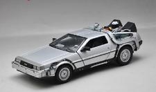 Welly 1:24 Delorean Time Machine Back to the Future Part 1 Diecast Model Car NIB