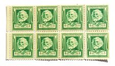 1940 1 Cent US Stamp American Poet Henry Wadsworth Longfellow Lot of 8
