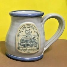 Deneen Pottery Mug-- Bee and Thistle Inn, Old Lyme Connecticut