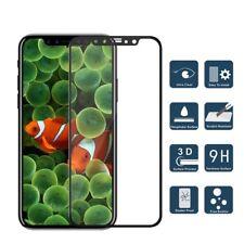 3x 3D Panzerfolie für iPhone X - Displayschutz Folie komplett Full Cover 3D