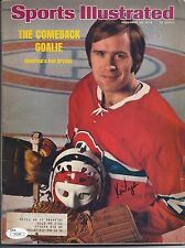KEN DRYDEN SIGNED 11/25/74 SPORTS ILLUSTRATED CANADIENS JSA COA