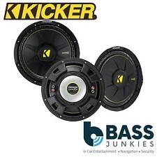 "Kicker CWCS84 - CompC 8"" 400 Watts 4 Ohm Single Voice Coil SVC Car Subwoofer"