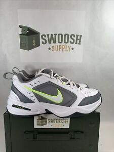 Nike Men's Air Monarch IV White Cool Grey Training Shoes 415445-100 Sizes