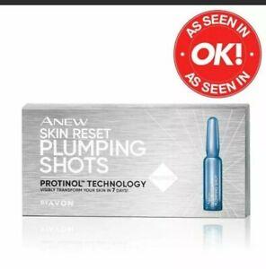 AVON ~ Anew Skin Reset Plumping Shots - 7 day skin reset