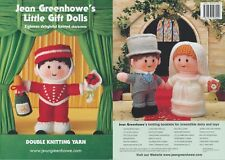 Little Gift Dolls Knitting Book Jean Greenhowe Patterns 18 Knitted Characters