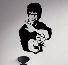 Bruce Lee Wall Vinyl Decal Film Actor Vinyl Sticker Martial Artist Home Decor 1