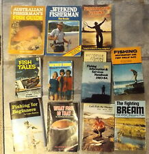 Collection of 10 Fishing Books Lance Wedlick Roger Hungerford Neville Coleman