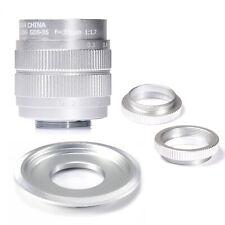 Fujian 35mm f/1.7 CCTV cine lens for Sony NEX E-mount camera&Adapter bundle SILV