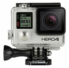 GoPro Hero 4 Silver Edition Camcorder CHDHY-401 With Touch Screen - Silver