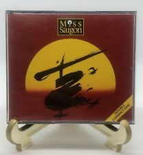 Miss Saigon Original London Cast Double CD Compact Disc