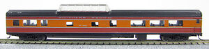 """N Smooth Side Mid-Train Dome Car Southern Pacific """"Daylight"""" (1-40226)"""