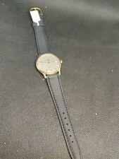 9ct Steel Garrard Watch