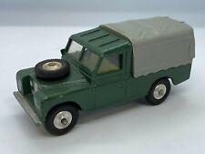 Corgi No 438 Land Rover 109'' W.B. Dark Green Diecast Model Vintage Original