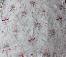 Shabby Antique French c1820-1830 Printed Cotton/Linen Fabric~Indienne Floral