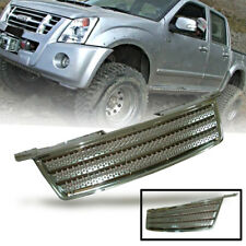 CHROME FRONT GRILL GRILLE FIT FOR ISUZU D-MAX DMAX 2007 08 09 10 11