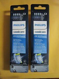Philips Sonicare C3 Premium Plaque Defence ToothBrush Heads Black HX9044  2qty
