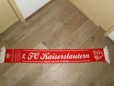 1.FC KAISERSLAUTERN vs EINTRACHT BRAUNSCHWEIG SCHAL 2014 TOP ZUSTAND