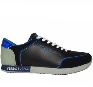 VERSACE JEANS Herren Men Schuhe Shoes Sneaker Schwarz 39,40,41,42,43,44,45