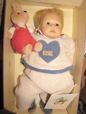"""Nel De Man Zapf 19"""" Delano Doll"""