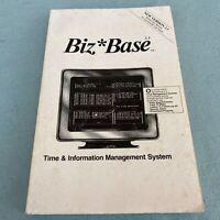 Tandy TRS-80 Biz Base 2.1 Time Information Management System User Manual 1991