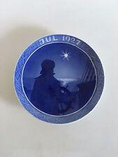 Royal Copenhagen Christmas Plate 1927