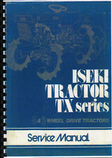 "Iseki ""TX Series"" Tractor Service Workshop Manual Book"