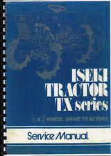 "Iseki ""TX Series"" Tractor Service Workshop Manual Book"