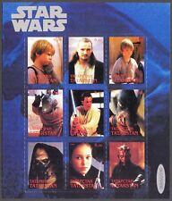"""TATARSTAN ( Russia local) Cinema """" STAR WARS """" ( 2 ) Sheet MNH** Privat"""