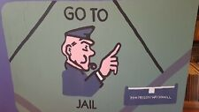Monopoly go to jail Hm Prison Woodhill 1220mmx940mm