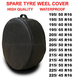 """R16""""  SPARE TYRE COVER WHEEL PROTECTIVE TYRE BAG SPACE SAVER FOR ANY CAR D53"""