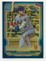 2020 Topps Gypsy Queen PETE ALONSO Chrome Blue Refractor 27/99 Mets #65