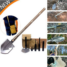 Tactical Multi-tools Folding Shovel Camping Outdoor Survival Spade Military Q7