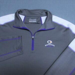 UNDER ARMOUR POLY 1/4 ZIP GOLF PULLOVER--l--BANDON DUNES!!--BEAUTIFUL--SPOTLESS!