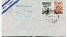 1972 Fuerza Aerea Argentina Comando De Regiones Aereas Polar Antarctic Cover
