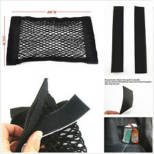 Rear Trunk Multifunction Nylon Storage Elastic Net Bag With Magic Tape NM001